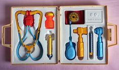 My best friend in 2nd grade had this toy--I loved it. Never thought at that time that one day I would be a nurse.