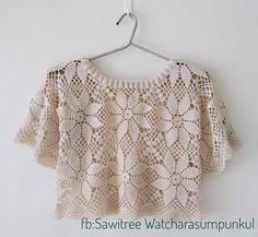 Crochet Crop Top, Crochet Blouse, Filet Crochet, Knit Crochet, Crochet Lingerie, Heart Patterns, Sweaters For Women, Men Sweater, Crochet Fashion