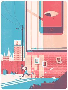 Illustration by Tom Haugomat for Protein Magazine on Behance