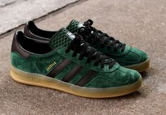 adidas Gazelle Indoor - Dark Green