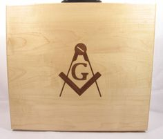 Masonic Apron Case made of solid maple Masonic Gifts, Making Out, Solid Wood, Home Goods, Apron, Garage, Cases, Handmade, Carport Garage