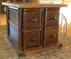 4 Antique Sewing Machine Drawers Jewelry Spice Cabinet