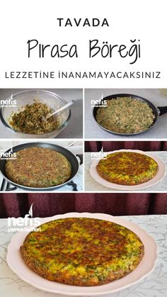 Leek Pie in Delicious Pan – Yummy Recipes – Typical Miracle Yummy Recipes, Baking Recipes, Yummy Food, Healthy Recipes, Turkish Recipes, Ethnic Recipes, Healthy Breakfast Casserole, Low Carb Dinner Recipes, No Calorie Foods