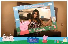 Fiesta Pepa Pig - Marco para Selfie