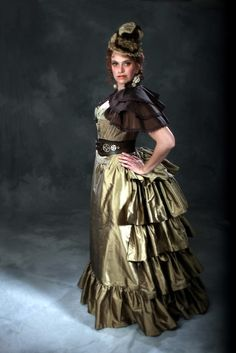c. 1880's Steampunk Time Traveling Adventure by PeriodCorsets