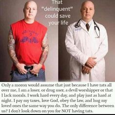Love this.  Applies to so many things people would judge others about.