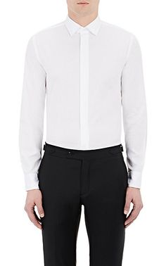Brooklyn Tailors Textured Button-Front Shirt - Collection - Barneys.com