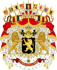 Armoiries de la Belgique.