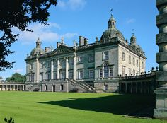 Houghton Hall ~ country seat of Sir Robert Walpole (1676-1745), England's first Prime Minister who gave 10 Downing Street to the British Government
