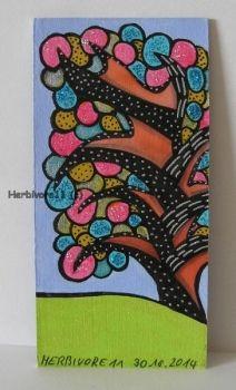 Tiere und Kunst von Herbivore11 - Funkelbäumchen Nr. 11