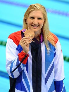 Rebecca Adlington wins bronze for #TeamGB! #Olympics
