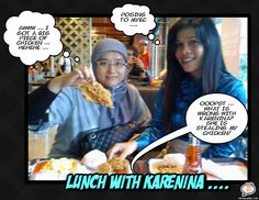Lunch with Karenina