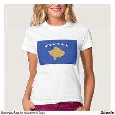 Kosovo, flag shirt