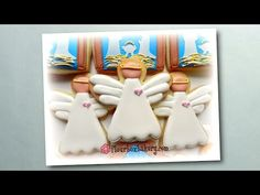 Flour Box Bakery — Day 11 of Cookie Videos: How to Decorate an Angel Cookie