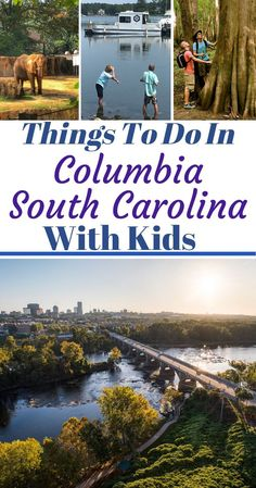 All of the fun family things to do in Columbia South Carolina with kids! Including the downtown area and surrounding Lake Murray Country suburb areas. Columbia South America, Columbia South Carolina, South America Travel, North Carolina, Travel With Kids, Family Travel, Affordable Family Vacations, South America Destinations, Travel Destinations