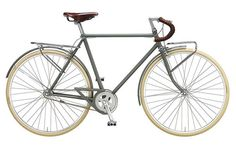 Vintage-style Cicli Velocista one-speed bicycle