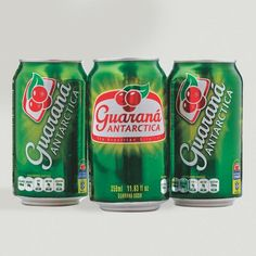 The second best-selling soft drink in Brazil, Guarana Antartica Soda is a refreshing, high-caffeine soda made from the guaraná fruit, native to the Amazon Basin. An official sponsor of the Brazilian National Football Team, Guarana Antarctica has a mild apple-like taste and a distinctive berry after-flavor. Yummy Drinks, Coco, Brazil, Berries, Beverages, Fruit, Soft Drink, Football Team, Stay Hydrated