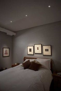 Recessed Lights In Bedroom Magnificent Give Your Bedroom A Clean Modern Look And Feeladding Recessed . Review