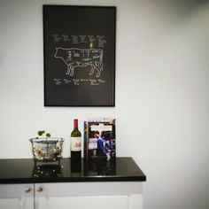 #Kjøkken#bilde#lyslenke