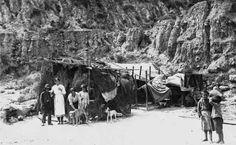 1928 - Barraca en Montjuic. BARCELONA, AHORA Y SIEMPRE: Vallcarca-El Coll