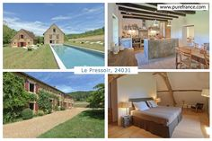 Le Pressoir ref. 24031 is a stunning converted 14th century watermill. Now a self catering holiday rental house to sleep 10 with private pool. www.purefrance.com/24031