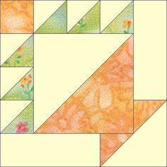 Alternate Piecing Method for Basket Block 12 Handles (No Paper Piecing)