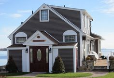painted vinyl siding before and after | You sure can! But before you go to the store and pick up some paint ...