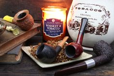 A diverse collection of six pipes ranging from Morta Sandblasts to Rusticated Billiards from English carver Chris Askwith, plus new pipes from Scottie Piersel and Jess Chonowitsch. Wooden Smoking Pipes, Tobacco Pipe Smoking, Tobacco Pipes, Pipes And Cigars, Cigars And Whiskey, Peace Pipe, Cigar Room, Coffee And Books, Candle Jars