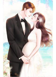 Anime Couples Drawings, Anime Couples Manga, Chica Anime Manga, Romantic Anime Couples, Romantic Manga, Cute Couples, Cute Couple Comics, Cute Couple Art, Manga Couple