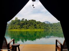 A Magical Stay at Floating Rainforest Camp on Cheow Lan Lake in Khao Sok National Park, Thailand