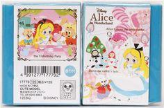 kawaii Alice in Wonderland fairy tale book eraser