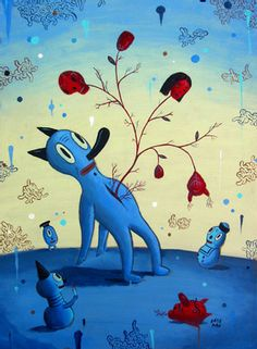 Gary Baseman. Los Angeles, California. Does illustrations for Target ads and New Yorker Covers.