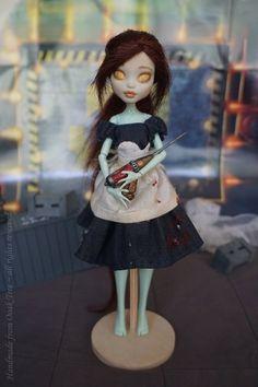 BIOSHOCK Little Sister  OOAK Monster High by HandmadeFromOoakTree