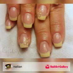Yellow by nailian via Nail Art Gallery #nailartgallery #nailart #nails #gel