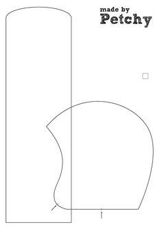Sewing pattern: Toddler bonnet/hat