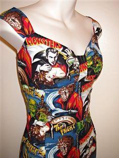 horror movie dress