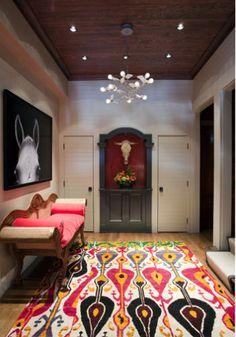 Style Stalking: Liz Caan Interiors  LOVE this carpet! Paige, I'm sending this pic to you!