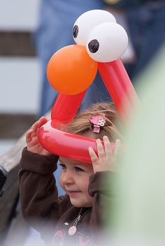Elmo hat, via Flickr.