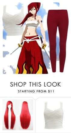 """""""Erza Scarlett"""" by littleshadow682 ❤ liked on Polyvore"""