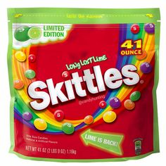 Limited Edition Long Lost Lime Skittles