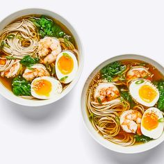 Dashi is the fastest route to a savory, slurp-able broth—and there are no loooong simmers or bags of chicken bones necessary. Soba Soup, Soup Recipes, Cooking Recipes, Recipies, Noodle Recipes, Chili Recipes, Recipes Dinner, Asian Recipes, Ethnic Recipes