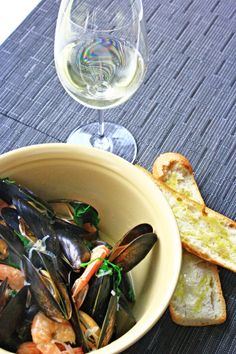 Sake-steamed Mussels by The Recipe Club, via Flickr | Food ...