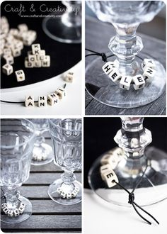 #diy easy craft idea for the christmas table