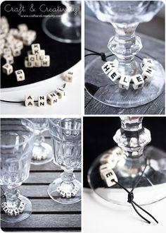 #diy easy craft idea for the christmas table