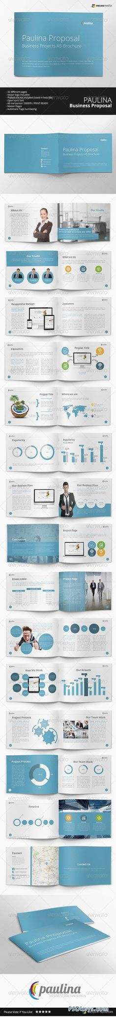 Simple 4 Pages Proposal For Web Developers Proposals   Business Proposal  Software Free Download  Business Proposal Software Free Download