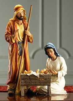 Holy Family Deluxe Nativity Set 12 Joseph GFM013 -- Continue to the product at the image link. (It is an affiliate link and I receive commission through sales)