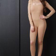 Keyhole Cut Out Jumpsuit #fashion #chic #shop #boutique #cute #bodysuit