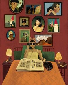 Image shared by Bárbara Farias. Find images and videos about poster, amelie poulain and le fabuleux destin d'amelie poulain on We Heart It - the app to get lost in what you love. Chillout Zone, Illustration Art, Illustrations, I Love Cinema, Destin, Fan Art, Good Movies, Collage Art, Art Inspo
