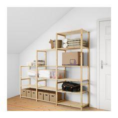 IVAR 3 sektioner/hyllor IKEA