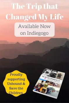 The Trip that Changed My Life is an inspirational project that will have a positive impact on children throughout the world. Reserve your copy of the book today and help us raise money for kid!
